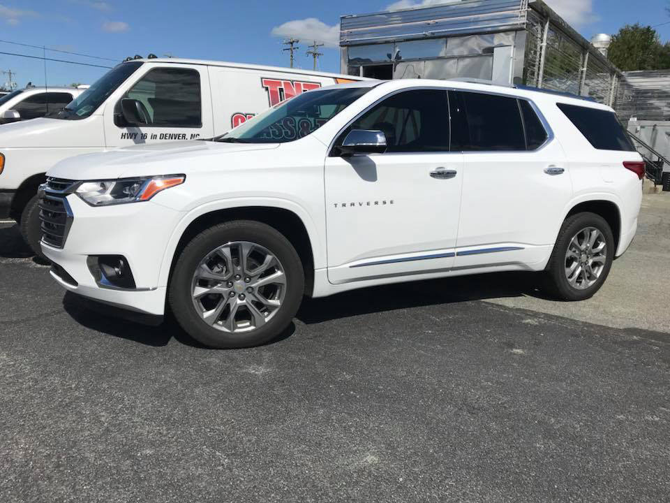 Chevy Traverse with CTX 30 and AIR 80