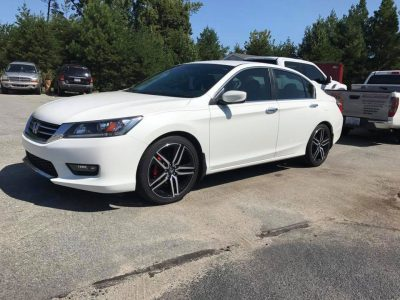 2014 Honda Accord with LLumar CTX 40