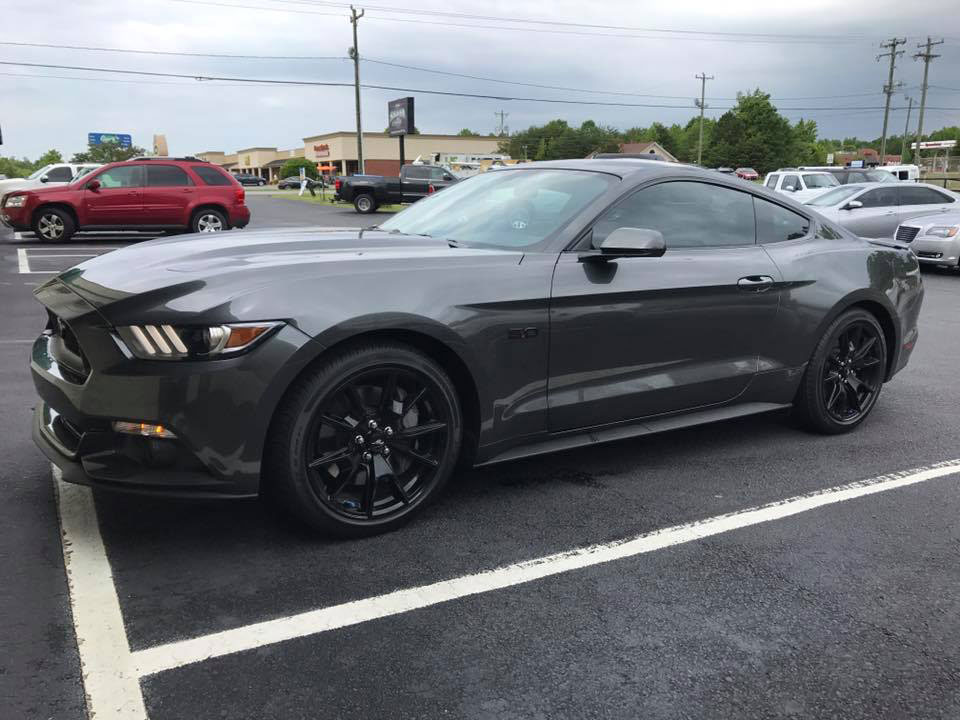 Ford Mustang With Llumar Ctx 40 Window Tint Tnt Auto Glass Window Tinting