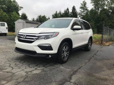 2016 Honda Pilot Paint Protection Film, LLumar CTX 40 and AIR 80