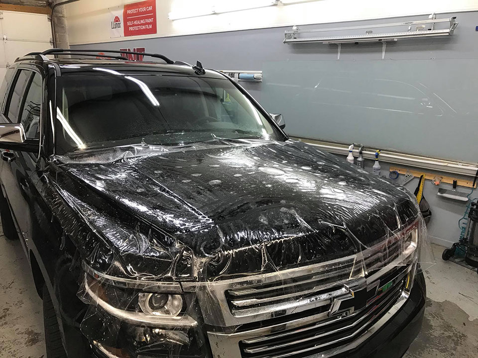 2018 Chevy Tahoe Paint Protection Film