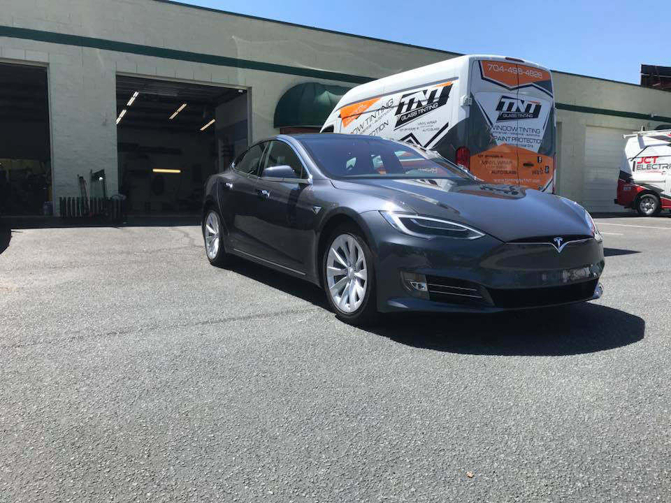 2018 Tesla S Paint Protection Film