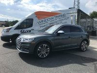 2018 Audi SQ5 with LLumar CTX 40 and Full Front PPF