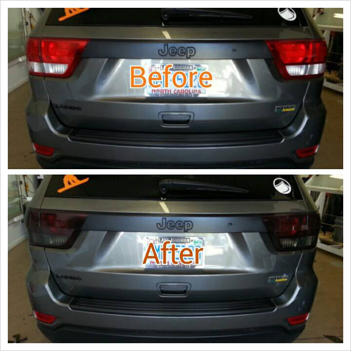 taillight tinting lake norman
