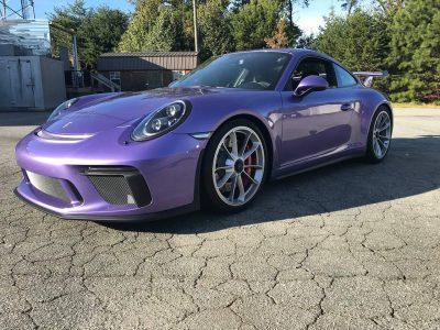 Porsche full front ppf