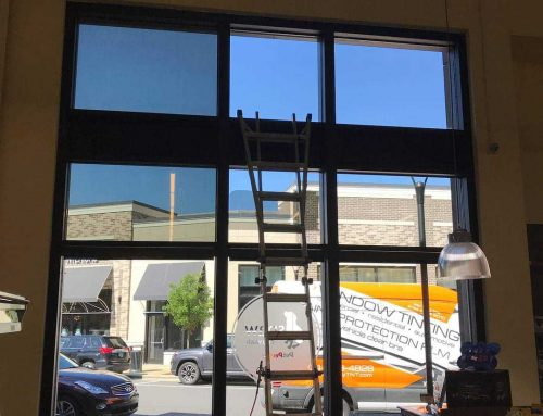 Commercial Building Window Tint – Fusion 10