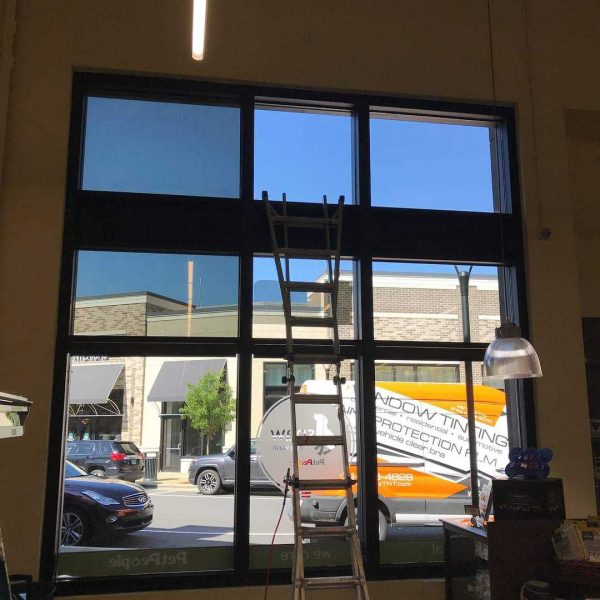 Commercial Building Window Tinting
