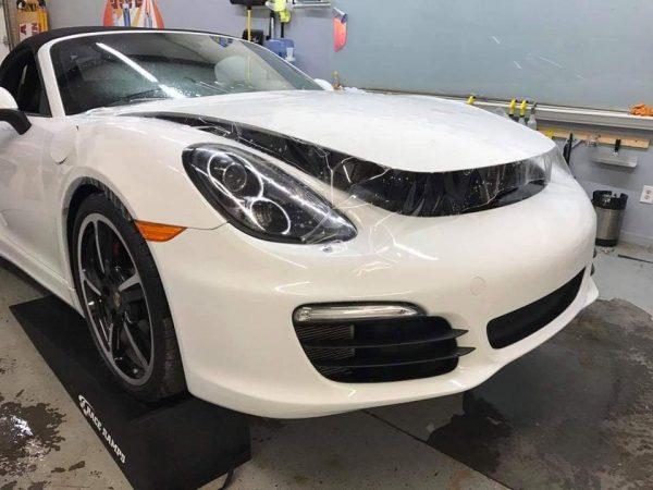 Porsche Paint Protection Film