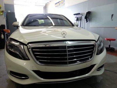 Mercedes Paint Protection Film