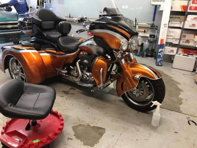 Trike Paint Protection Film